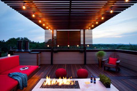 阳台窗台现代风格装修效果图