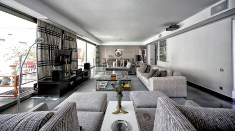 客厅现代风格装修图片