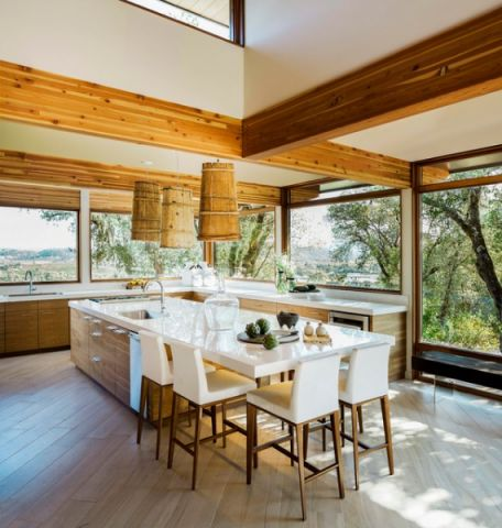 完美舒适现代风格厨房装修效果图_土拨鼠2017装修图片大全