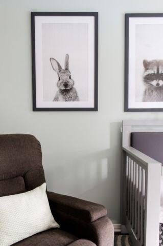 儿童房照片墙现代风格装潢图片