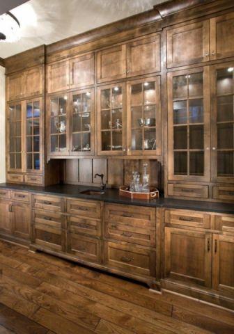 厨房橱柜美式风格装饰图片