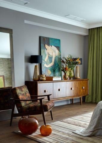 卧室细节美式风格装修设计图片
