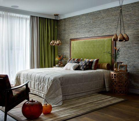 卧室细节美式风格装潢设计图片
