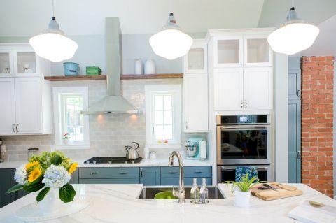 厨房橱柜美式风格装修设计图片