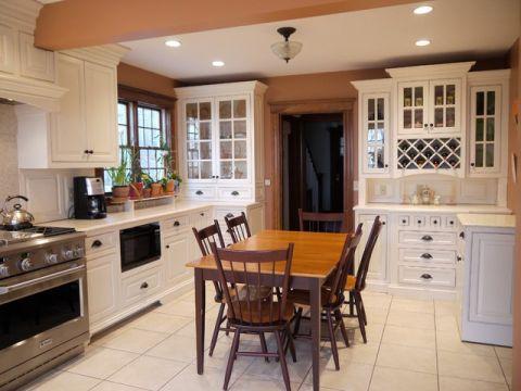 厨房橱柜美式风格装潢设计图片