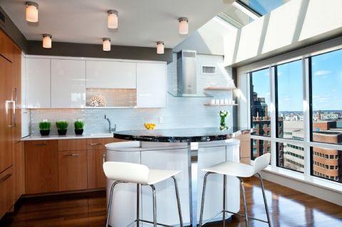 厨房窗台美式风格装修效果图