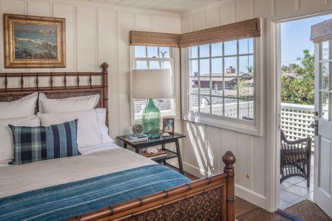卧室窗台美式风格装潢设计图片