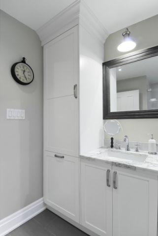 卫生间美式风格装潢效果图