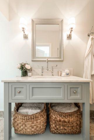 浪漫迷人美式风格浴室装修效果图_土拨鼠2017装修图片大全
