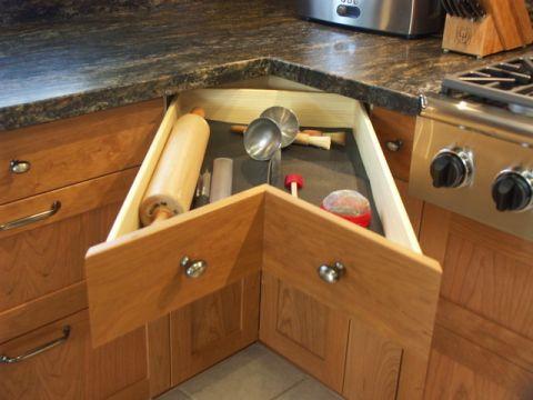 厨房细节美式风格装修图片