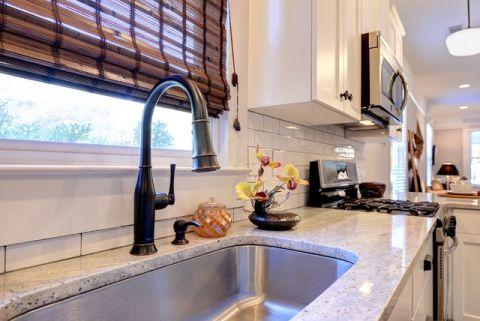厨房细节美式风格装潢效果图