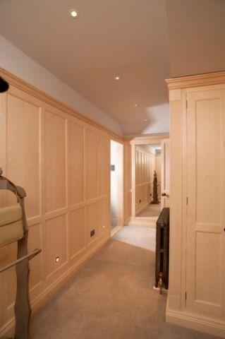 米色走廊美式风格装修图片