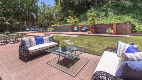 花园绿色美式风格效果图
