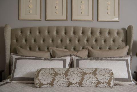 客厅灰色沙发美式风格装饰效果图