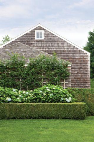 花园绿色简欧风格装潢效果图