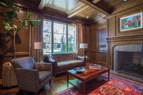 书房沙发简欧风格装饰效果图