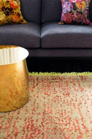 客厅黑色沙发简欧风格装潢设计图片