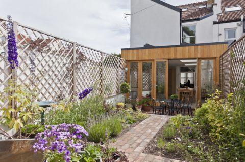 花园走廊简欧风格装饰设计图片