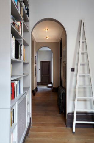 书房走廊简欧风格效果图