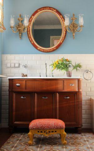 浴室细节简欧风格装修效果图