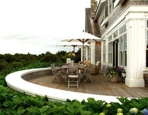 阳台细节简欧风格装饰效果图