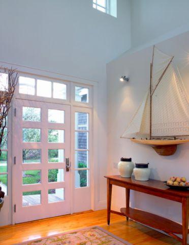 玄关门厅简欧风格装修设计图片