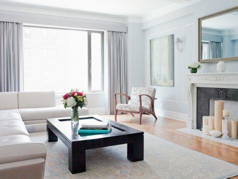 客厅细节简欧风格装饰图片
