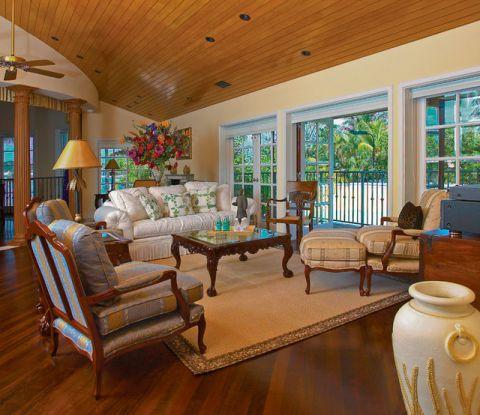客厅细节简欧风格装修图片