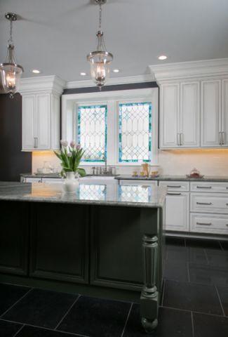 厨房细节简欧风格效果图