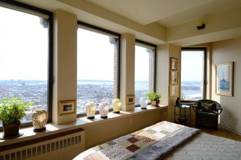 卧室窗台混搭风格装潢效果图