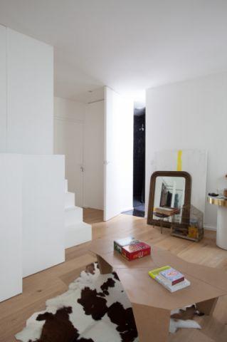客厅门厅混搭风格装修图片