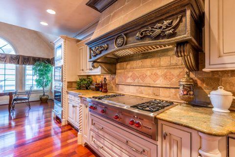 厨房白色细节混搭风格装饰效果图