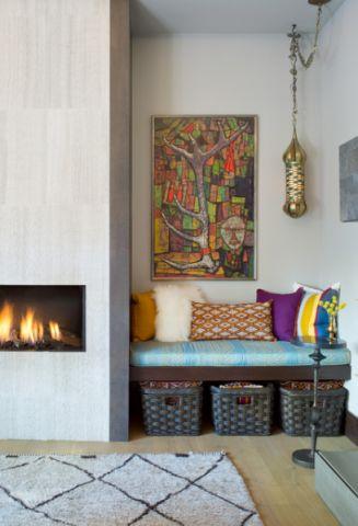 客厅彩色细节混搭风格装饰效果图