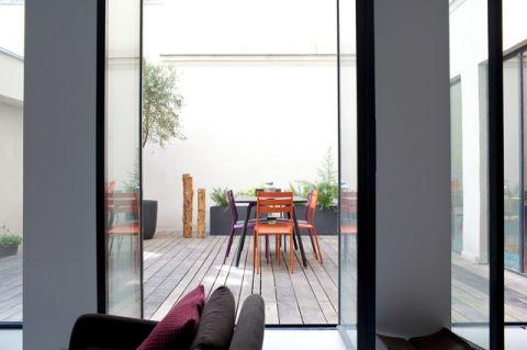 阳台细节混搭风格装饰效果图