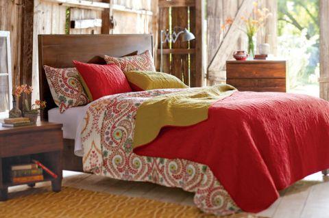卧室细节混搭风格效果图