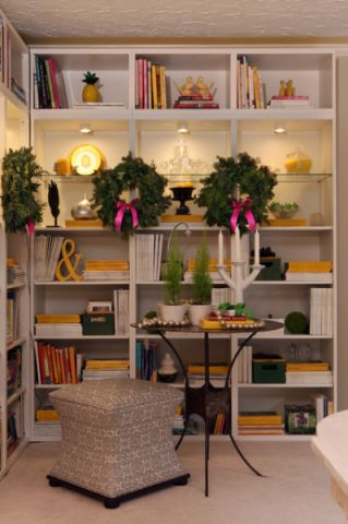 客厅橱柜混搭风格装潢图片