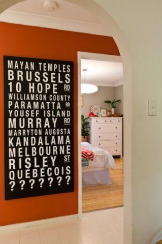 卧室走廊混搭风格装饰设计图片