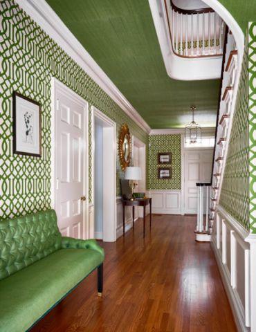 玄关走廊混搭风格装饰效果图