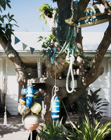 花园细节混搭风格装饰设计图片