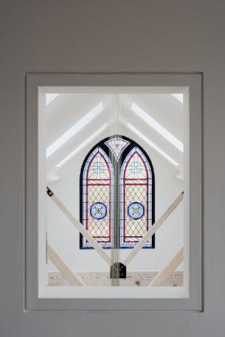 客厅窗台混搭风格装潢效果图