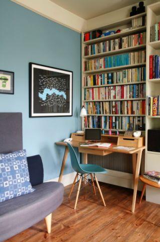 书房细节混搭风格装饰效果图