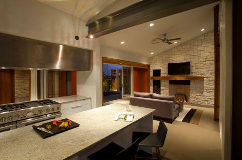 厨房灰色细节现代风格装饰设计图片