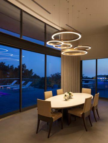 餐厅米色细节现代风格装潢图片