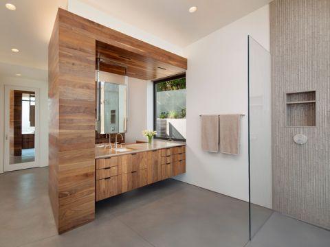 卫生间咖啡色细节现代风格效果图