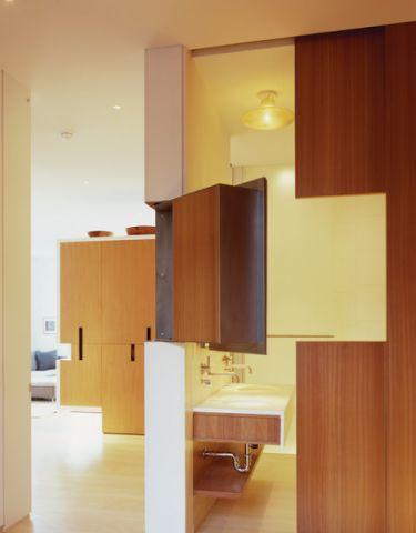 卫生间咖啡色细节现代风格装饰效果图