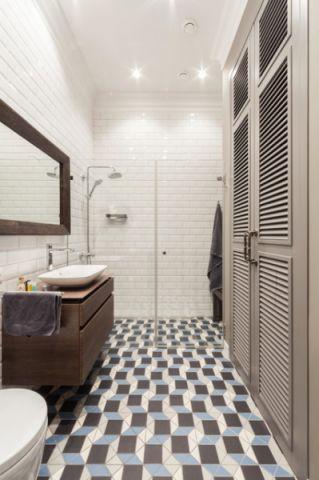 卫生间橱柜现代风格装修效果图