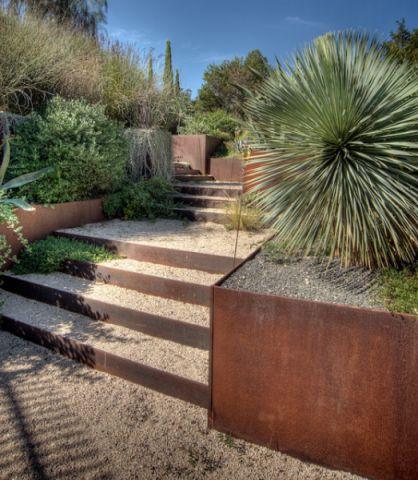 花园楼梯现代风格装饰效果图