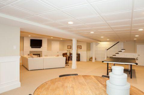 客厅地下室现代风格装饰效果图