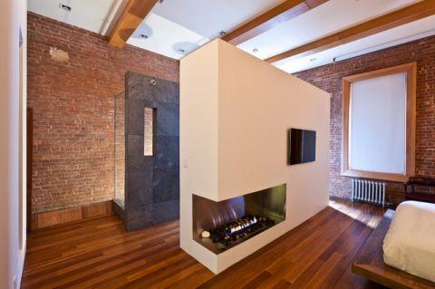 卧室隔断现代风格装修效果图