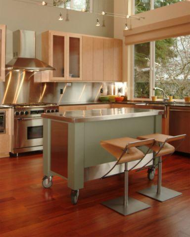 2019现代厨房装修图 2019现代厨房岛台效果图